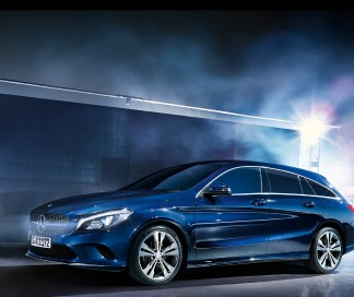 La CLA Shooting Brake de Mercedes-Benz