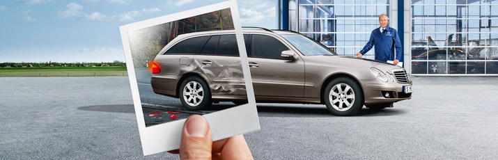 Aide en cas d'accident Mercedes-Benz